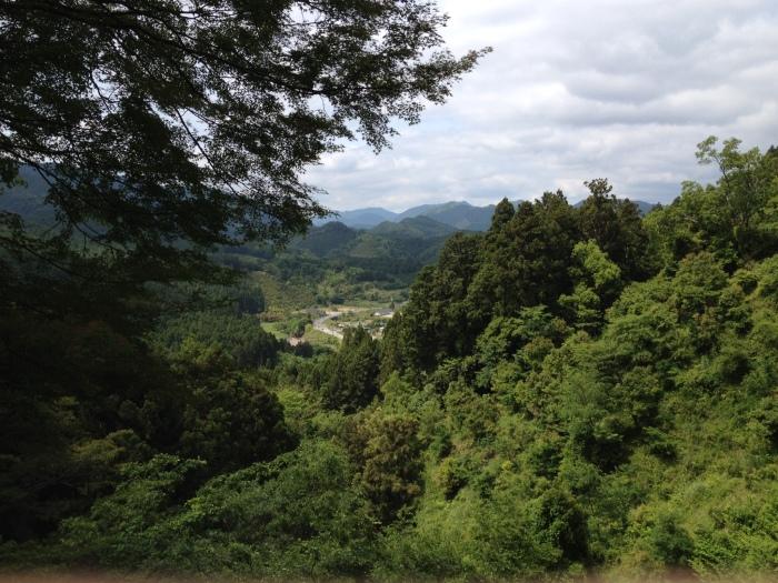 熊野古道を歩く。和歌山から奈良への帰り道