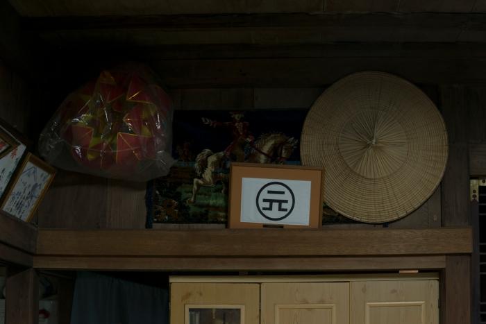 額に入った記号は、ダノハンという持ち物などに付けられれる家のマーク